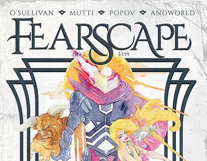 FEARSCAPE #2 Vault Comics - ARIELA KRISTANTINA