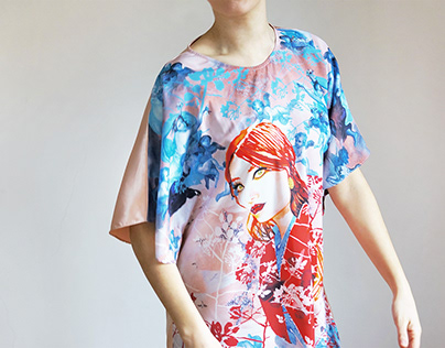 Novelty in Heaven: Illustration and Print Textile