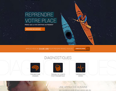 Web Design | Intégration sociale Armand