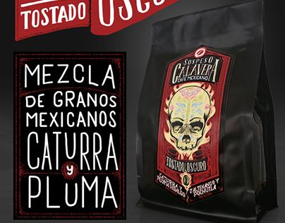 Packaging y comunicación Mezcla Calavera