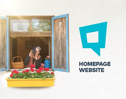 Homepage Website