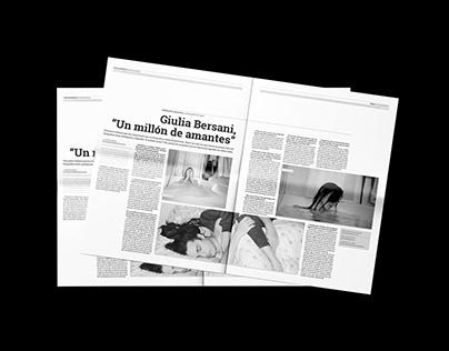 Newspaper | 35 Milímetros | Fotografía Analógica