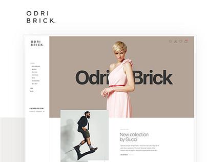 OdriBrick | Luxury Clothes E-commerce