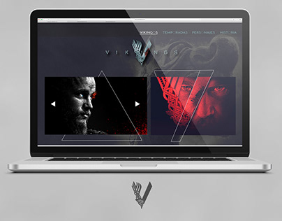 Concept web vikingos