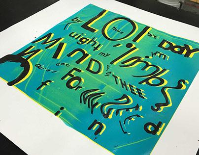 Shakespeare Typographic Piece