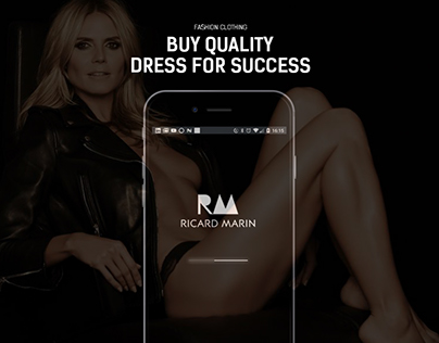 RICARD MARIN - DRESS FOR SUCCESS - UX / UI DESIGN