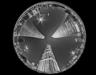 Fish-eye City