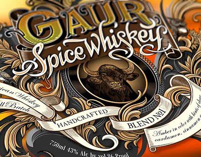 Gaur Spice Whiskey- Designing the bottle