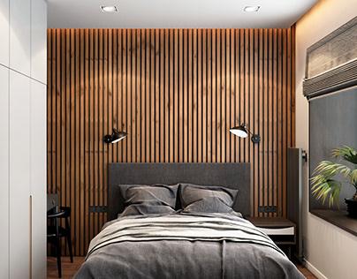 Дизайн-проект квартиры в ЖК «Альфа»