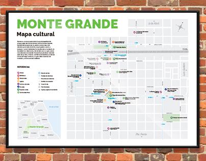 Monte Grande - Mapa Cultural