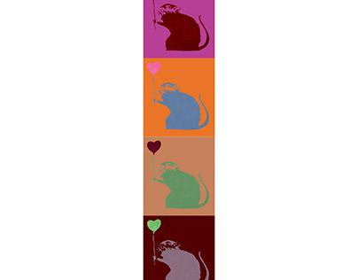 Ilustração - Wash Off - Ratos