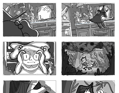 The Garden Storyboards