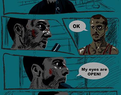 Fight Club Climax Comic Art