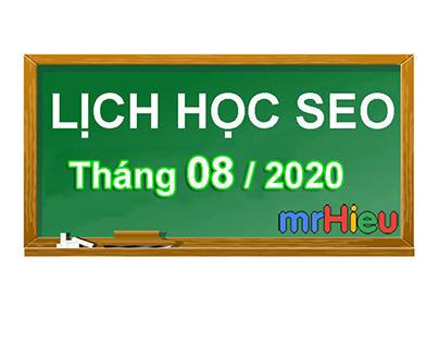 Đào tạo seo Mr Hieu - Khóa học seo giá rẻ tháng 8/2020