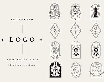 Enchanted Logo Emblem Bundle VOL 1