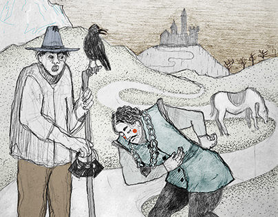 Illustrations for fairy tales