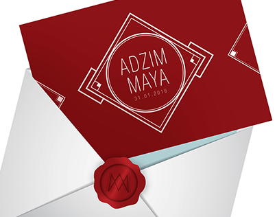 Wedding Invitation: Adzim and Maya