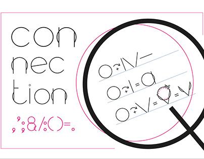 Font Design. ''Connection''