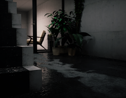 A rainy day in Osaka. Luca Sabbadini - NATA.ARCHVIZ