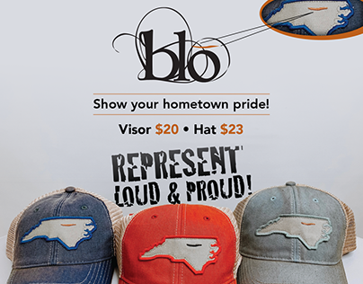 New quality trucker hats and visors from Blo