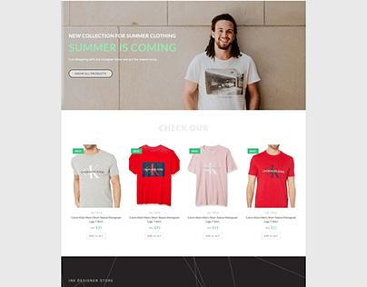 eCommerce Website Using Woocommerce