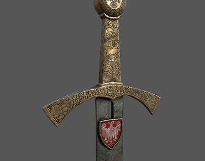 """Polish sword """"SZCZERBIEC"""""""