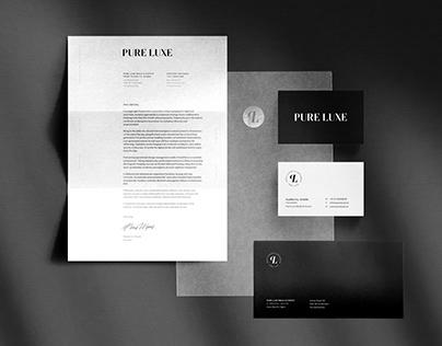 Pure Luxe — Visual Identity