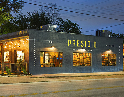 Presidio Restaurant & Bar - Branding