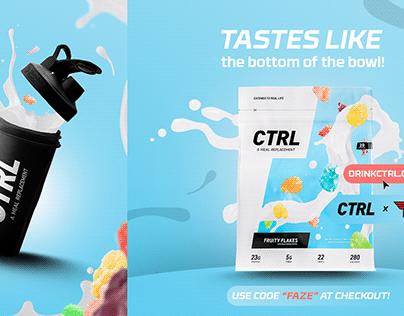 CTRL X FAZE Advert