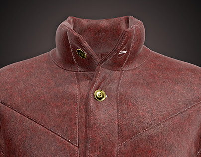 3d Leather Jacket