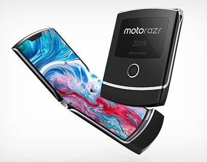 Moto Razr 2019 (Visualization)