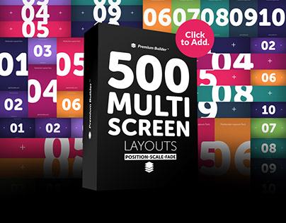 Multi Screen Layouts