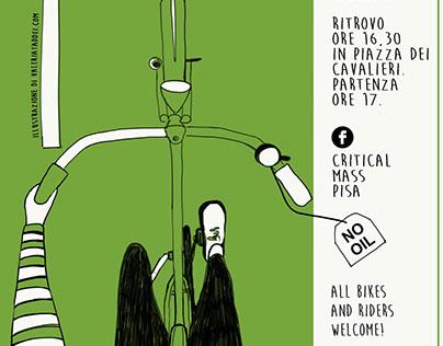 Critical Mass Pisa poster/flyer