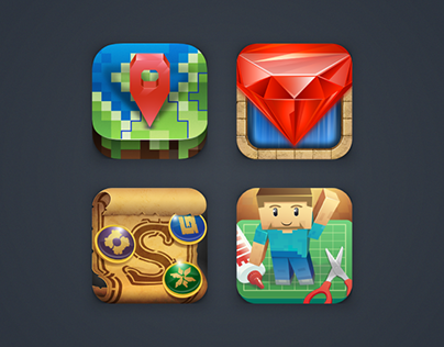Icons for 57 Digital