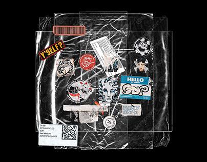 23 Plastic bag Mockups PSD (bonus 19 sticker included)