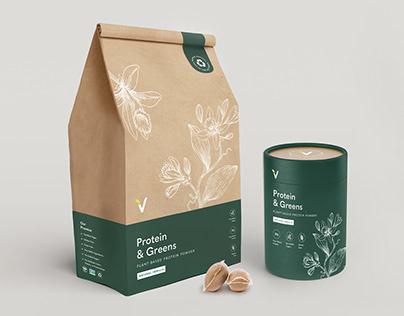 Sustainable Packaging Design - Vega Protein