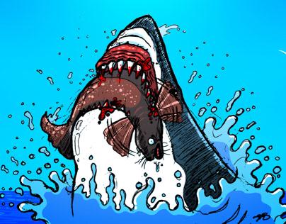 Shark Week Sketches (2019)