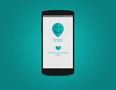 Treo Kids tracker app : UI Design