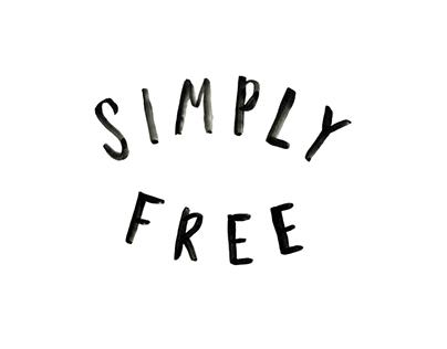 Simply Free | Lettering + Web Design/Development