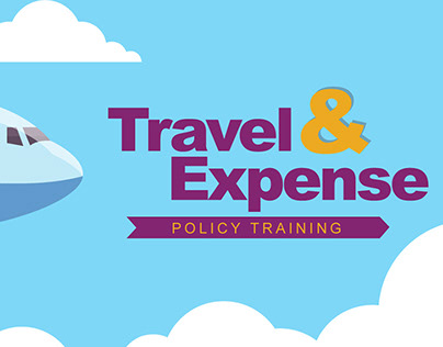 Training Visual Design - Travel and Expense