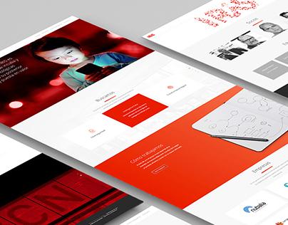 Branding y diseño web de Iris Venture Builder
