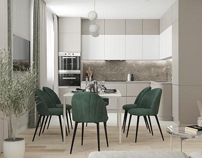 Living room / kitchen