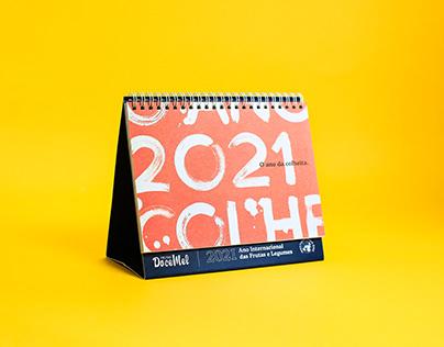 Calendário 2021 Doce Mel