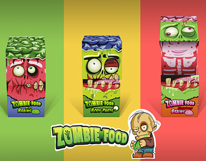 Zombie Food Packaging & Design