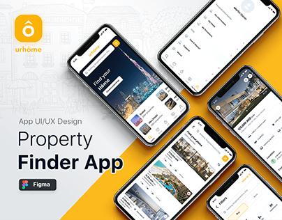 Property Finder Mobile App UI/UX   Real Estate