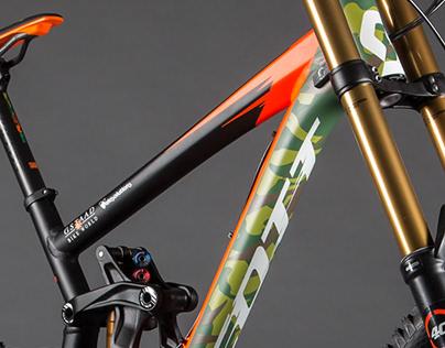 Scott Custom Race Bike Graphics
