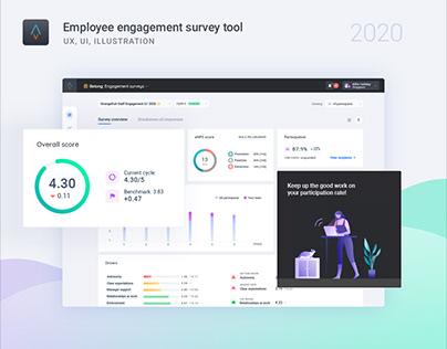 Employee Engagement Survey Software (UI/UX)