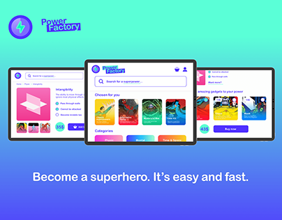 Power Factory - Superpower E-commerce