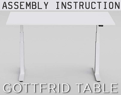 Assembly instruction- Gottfrid table