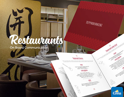 On Board Restaurants · Costa Crociere
